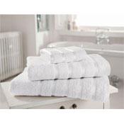 Egyptian Cotton Bath Towel White