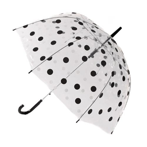 Dome Brollies Spot Print Umbrellas