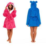 Ladies Shawl Nightwear Dressing Gown with Hood