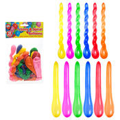 Long & Spiral Party Balloons