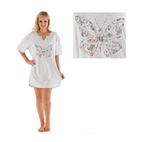 Ladies Butterfly Sleepy Tee
