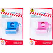 Baby Nappy Bag Dispenser With Two Rolls