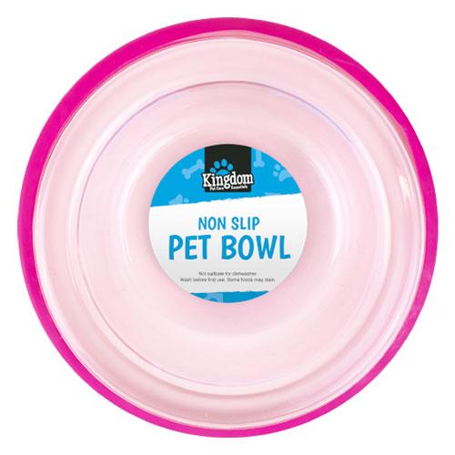 Transparent Non Slip Dog Bowl