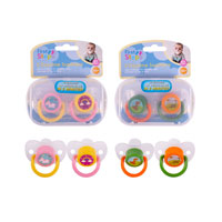 Daytime Soother With Steriliser Box 2 Pack