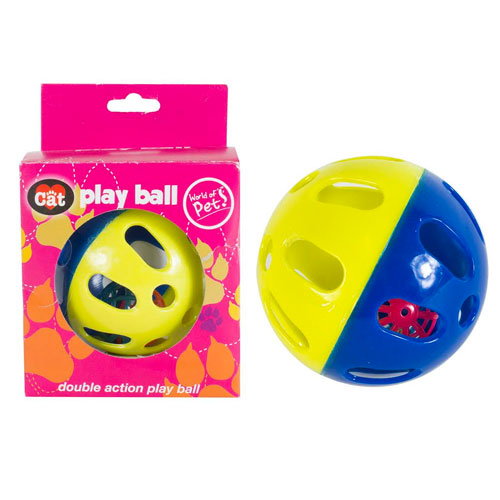 Cats Double Action Play Ball