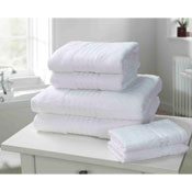Windsor Egyptian Combed Cotton Bath Towel White