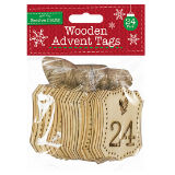 Wooden Advent Tags