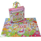 Grafix 45 Piece Fairy Town Floor Puzzle