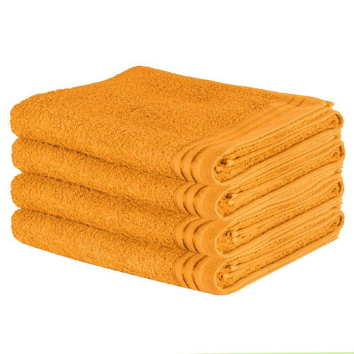 Luxury Wilsford Cotton Bath Sheet Ochre
