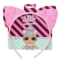 Official LOL Surprise Hair Band With Pink Ears