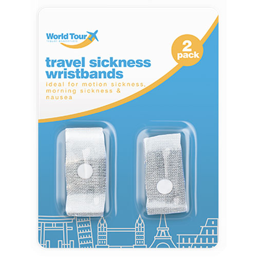 Travel Sickness Wristbands 2 Pack