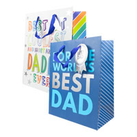 Fathers Day Gift Bag Large