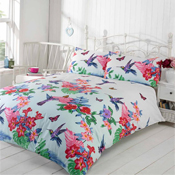 Made With Love Duvet Set Humming Bird Multi