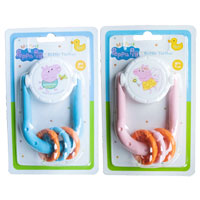 Official Peppa Pig Rattle Teethers