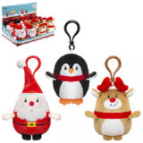 Christmas Clip On Plush Toy