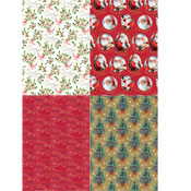 Christmas Wrapping Paper Elegant Traditional