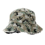Childrens Bush Hat Camo Reversible