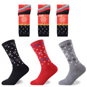 Socksation Ladies Thermal Fashion Socks Snowflake