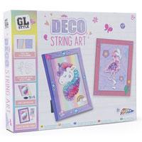 GL Style Deco String Art