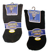 Extra-Wide Comfort fit Diabetic Socks Darks
