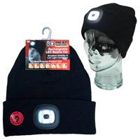Heat Machine Rechargable LED Beanie Hat