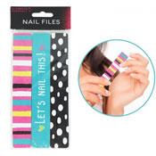 Stylish Printed Manicure Nail Files