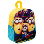 Minions Junior Backpack With Mesh Pocket