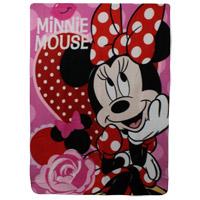 Official Minnie Mouse Polar Fleece Blanket