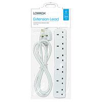 6 Socket Extension Lead 2m