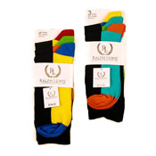 Solid Coloured Heel Socks Ralph Lewis