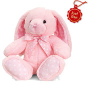 Baby Spotty Rabbit Pink