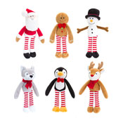 12cm Christmas Characters Assorted Soft Toy