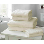 Windsor Egyptian Combed Cotton Bath Towel Cream