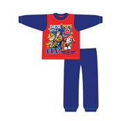 Boys Toddler Paw Patrol Fly Snuggle Fit Pyjama