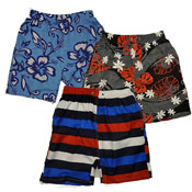 Boys Pattern Printed Shorts