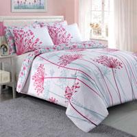 Meadow Pink Duvet Set