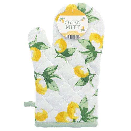 Lemons Single Oven Glove