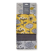 Retro Meadow Tea Towels 3 Pack