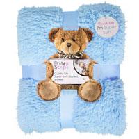 Baby Sherpa Blanket Blue