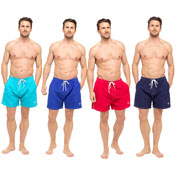 Mens Swim Shorts Plain