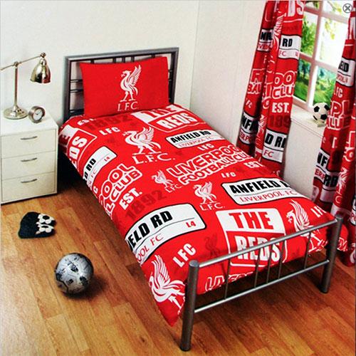 Official Liverpool FC Duvet Set