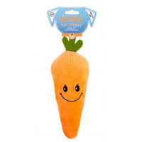 Kenny The Carrot Plush Dog Toy