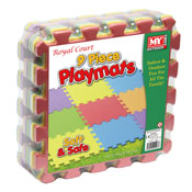 9 Piece Soft Playmats