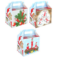 Christmas Treat Boxes - Elfin Around