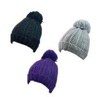Ladies Waterproof Pom Pom Hat With Thinsulate Lining