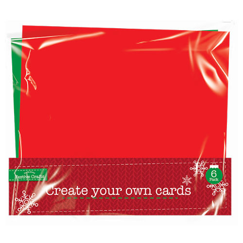 Create Your Own Greetings Cards 6 Pack