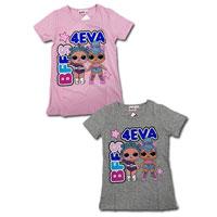 Official Girls LOL Surprise T-Shirt BFFs 4EVA