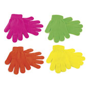 Childrens Neon Magic Gloves