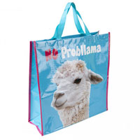 No Probllama Reusable Shopping Bag