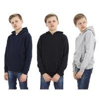 Boys Over The Head Hoodie With Kangaroo Pocket